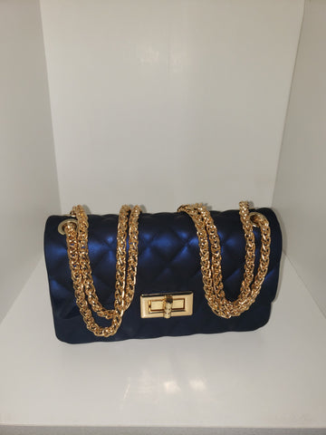 Small chained purse