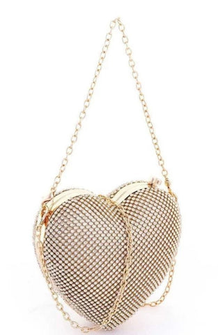 Heart of diamonds purse