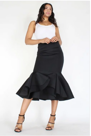 High Waist Skirt reg