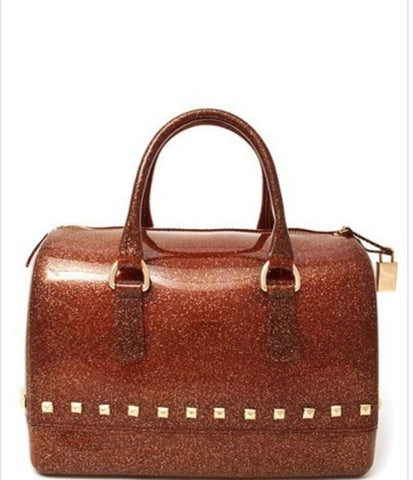 Brown satchel Purse