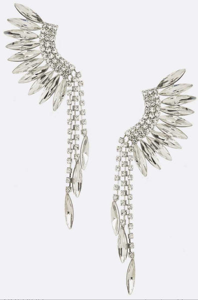 Feather styled Earring