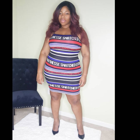 Snatched - Plus Size Bodycon Dress