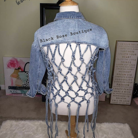 Denim Knot Jacket