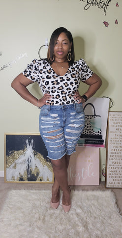 Printed plussize top