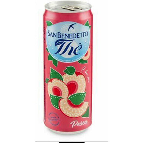 Thé San Benedetto Pesca box 24 lattine - Fast Fruit Srl