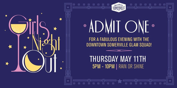 Downtown Somerville's Girls' Night Out