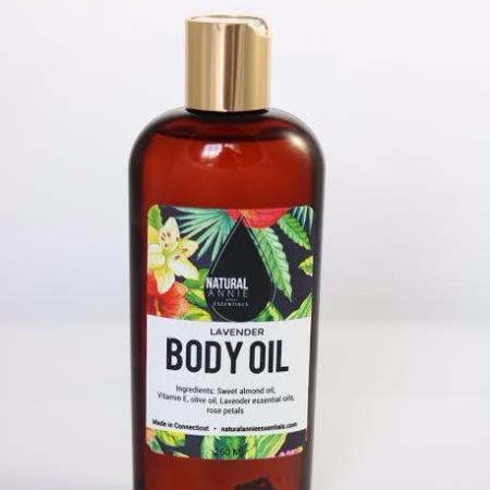 NaturalAnnie Essentials | Lavender Therapeutic Body Oil
