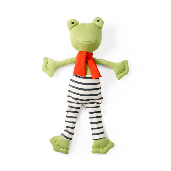 Hazel Village | Lewis Toad in Striped Pants and Scarf