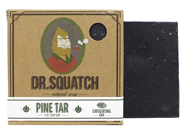 Dr. Squatch Natural Soap | Pine Tar