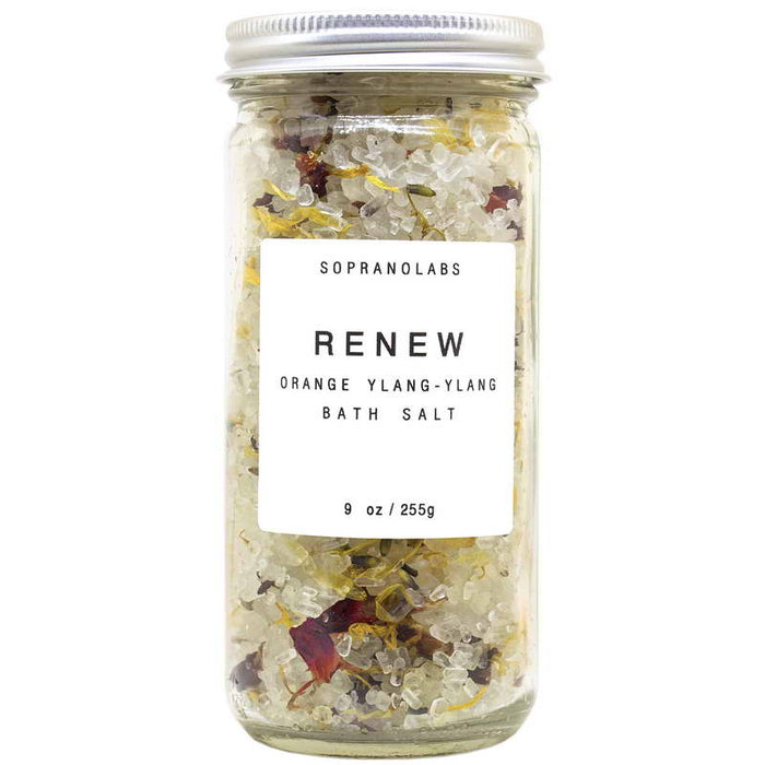 Orange Ylang Ylang Renewing Bath Salts