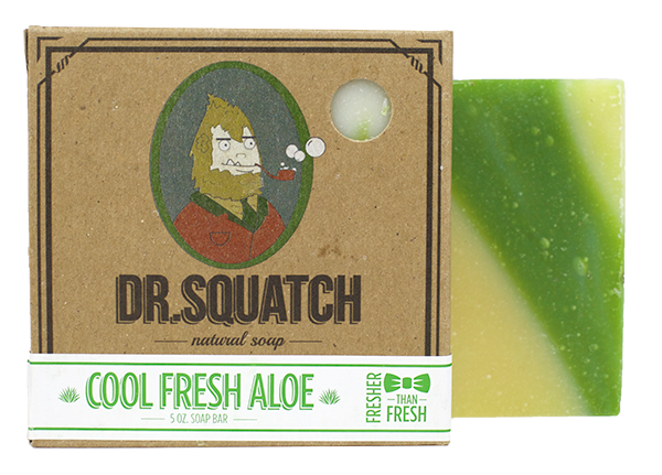 Dr. Squatch Natural Soap | Cool Fresh Aloe