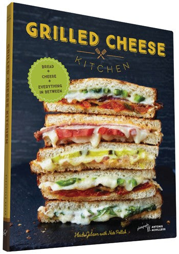 """Grilled Cheese Kitchen"" Cookbook by Chronicle Books, available at Three Hearts Home"