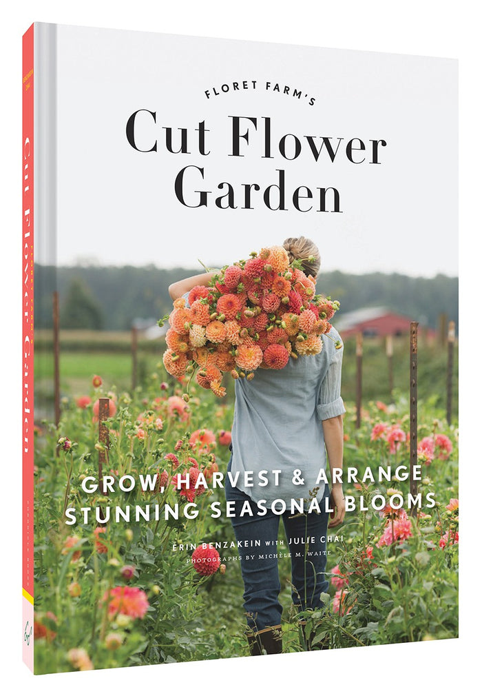 """Floret Farm's Cut Flower Garden"" Book by Chronicle Books, available at Three Hearts Home"
