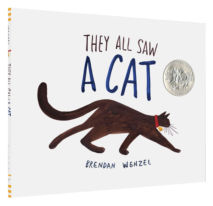 """They All Saw a Cat"" Children's Book by Brendan Wenzel"