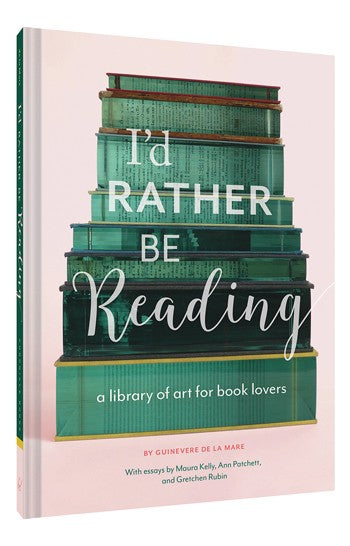 """I'd Rather Be Reading"" Book"