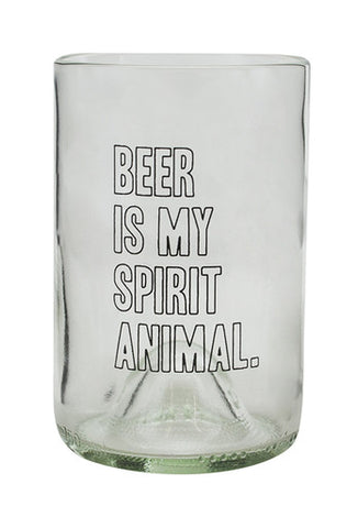 Beer Is My Spirit Animal | Made From Bordeaux Wine Bottles