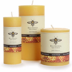 Pure Beeswax PIllars | 100% Beeswax