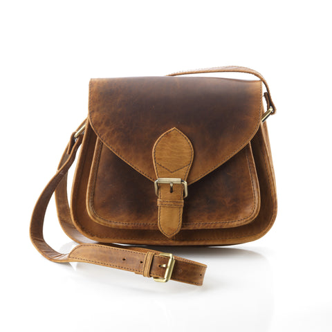All Leather Satchel