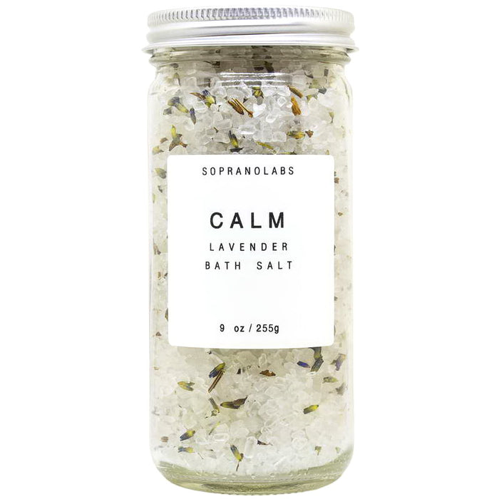 Lavender Calming Bath Salts