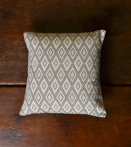 'Black Diamonds' Pillow by Sustainable Threads, available at Three Hearts Home