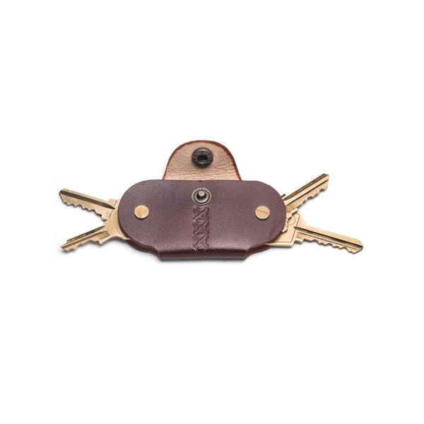 Leather Key Holder | Brown