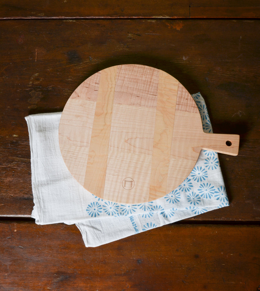 Tiger Maple French Paddle by Vermont Farm Table.  #Handcrafted #AmericanMade #Heirloom #ThreeHeartsHome