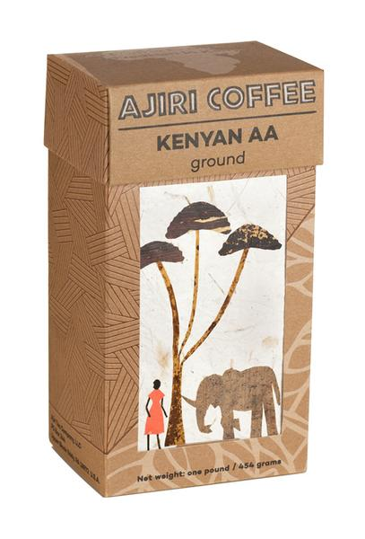 Ajiri Coffee | Fair Trade | Ground Kenyan AA Coffee