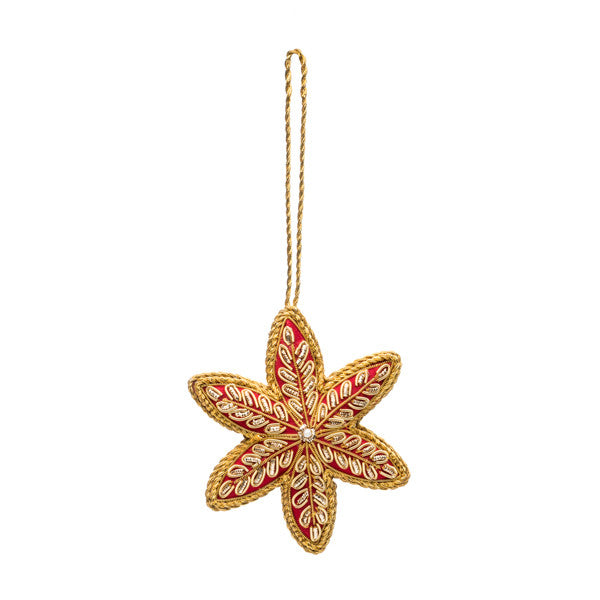 Embellished Star Ornament