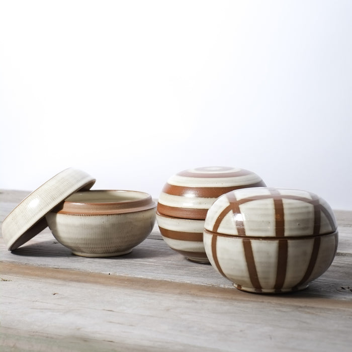 Ceramic Salt Boxes by Jeremy Ayers Pottery. Handcrafted, American Made.