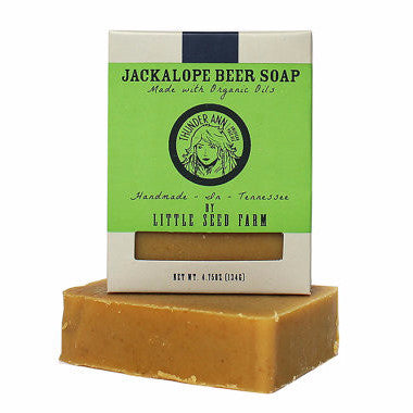 Organic Raw Goat's Milk Beer Soap | Thunder Ann Beer Soap