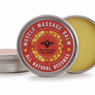 Muscle Massage Balm | All-natural | Therapeutic Essential Oils