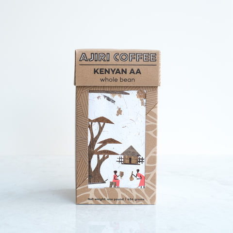 Ajiri Coffee | Whole Bean by Ajiri Tea, available at Three Hearts Home