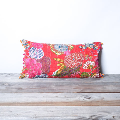 "Handstitched Jogi Pillows | 12"" x 21"""