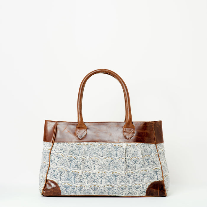 Anna Leather Handbag | Brown