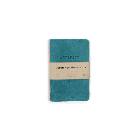 Artifact Leather Notebook | Two Pack