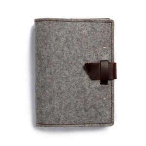 Wool Wasatch Notebook - Lined