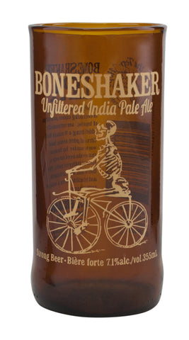 Tumblers Made From Recycled Boneshaker Beer Bottles | Set of Two with Gift Packaging