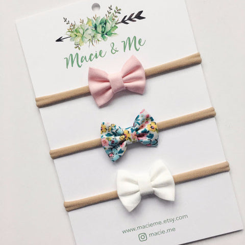 Hair Bows | Set of Three