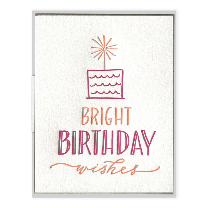 """Bright Birthday Wishes"" Birthday Card"
