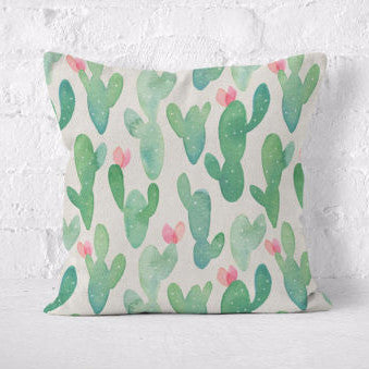 Throw Pillow | Wild Cactus