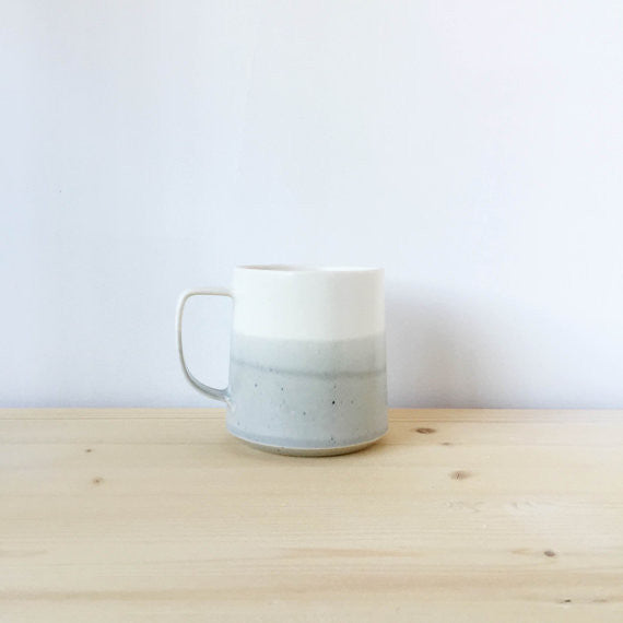 The Danish Mug | Grey and White