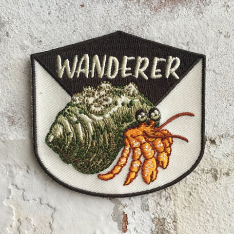 Embroidered Patch | Wanderer (Hermit Crab)