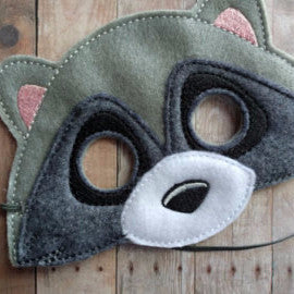Embroidered Animal Mask