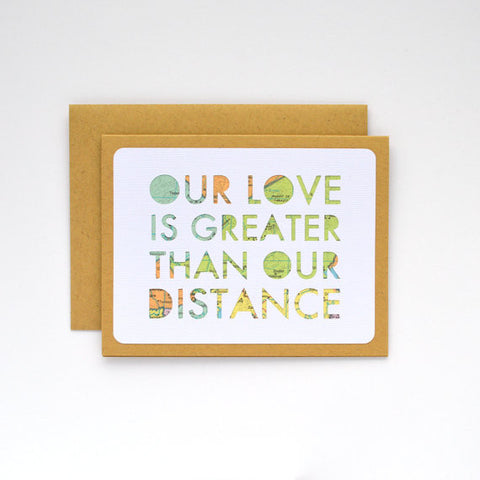 """Our Love is Greater"" Card"