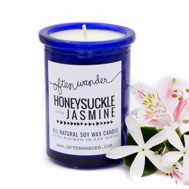 Soy Candles | Honeysuckle and Jasmine | Home Fragrance