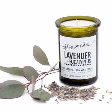 Soy Candles | Lavender and Eucalyptus | Home Decor | Fragrance for Your Home