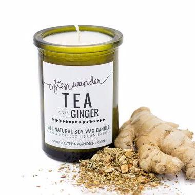 Soy Candles | Tea and Ginger | Home Fragrance