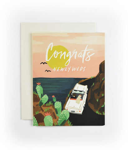 Honeymooners Wedding Card