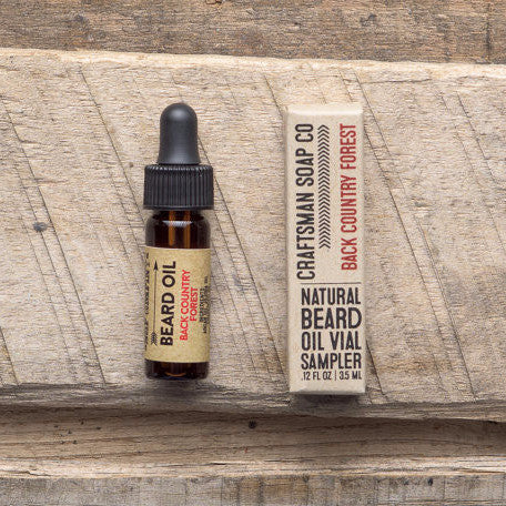 Beard Oil | Back Country Forest - 100% All-Natural Handmade