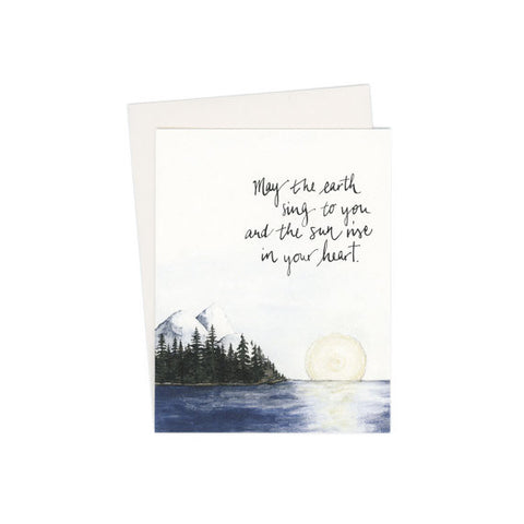 """Native American Blessing"" Card"